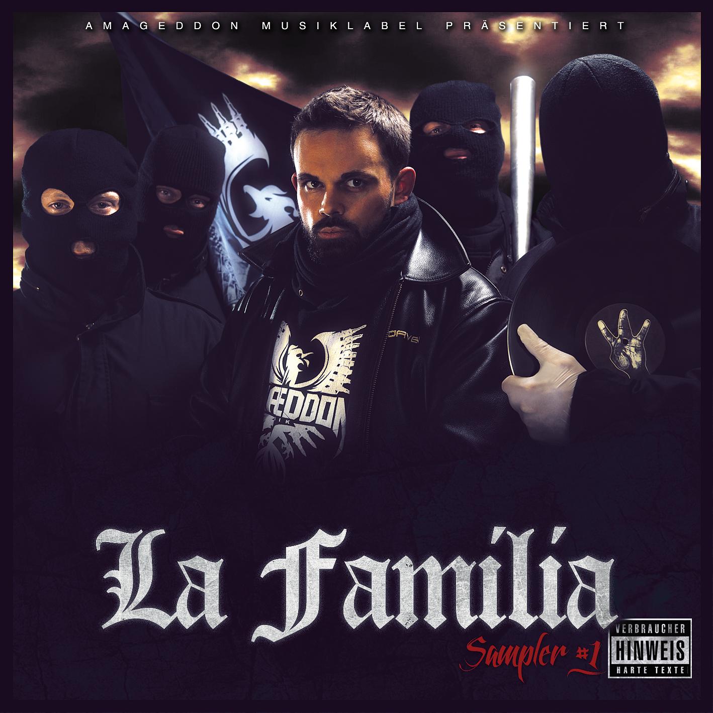 Amageddon Musik - La Familia Cover Front Web RGB